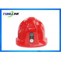 Buy cheap Two Way Intercom 4G Wireless Device 4G Safety Helmet With Face Capture Wireless Camera from wholesalers