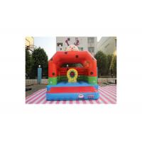 Buy cheap Commercial Grade Inflatable Bounce House / Double Stitching Blow Up Playhouse from wholesalers