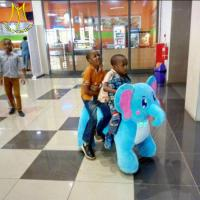 Buy cheap Hansel amusement park kids walking battery operated ride on elephant from wholesalers