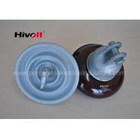 Buy cheap ANSI 52-1 Porcelain Suspension Insulator Anti Fog OEM / ODM Available from wholesalers