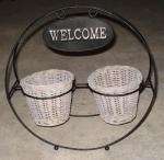 Buy cheap Willow Flower Basket (SJKH1035) from wholesalers