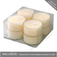 Buy cheap Small Different Color Soy Home Scented Candles Plastic Bag Packaging , Long Lifespan from wholesalers
