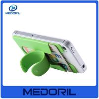 Buy cheap Hot Selling Adjustable 3m sticker silicone mobile phone card holder with stand from wholesalers