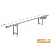 Buy cheap Washable 4000mm Length 60W Stainless Steel Belt Conveyor from wholesalers