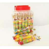 Buy cheap Colorful and Sweet Multi Fruit Flavor Roll Healthy Hard Compress Candy in Jars product