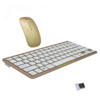 Buy cheap Slim 2.4G Wireless Mouse And Keyboard For Pc / Smart TV BOX product