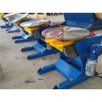 Buy cheap Φ600 Worktable 300KG Rotary Welding Positioners For Manual / Automatic Welding from wholesalers