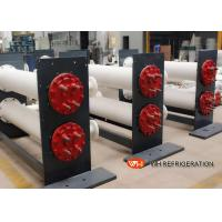 Buy cheap Dry Horizontal Shell And Tube Condenser Stainless Steel For Water Cooled Unit from wholesalers