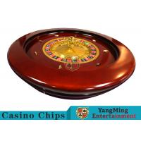 Buy cheap Deluxe Solid Wooden Roulette Wheel Board For Casino Solid And Durable from wholesalers