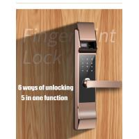 Buy cheap Slide Cover Fingerprint Scanner Lock Mobile Remote / Password Unlock Available from wholesalers