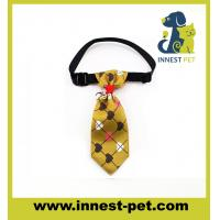 Buy cheap High Fashion Woven Cotton Wholesale Dog Bow Tie product