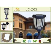 Buy cheap Outdoor Residential Landscape Custom Westinghouse Solar Lights Black / bronze from wholesalers