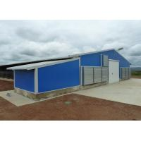 Buy cheap Pre - Engineered Steel Chicken Houses Gabled Steel Structure With Feed Box from wholesalers