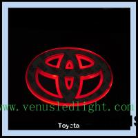 Buy cheap car logo light Car Badge LED Light Truck Emblem Tail for ford toyota from wholesalers