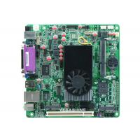 Buy cheap 8USB 2.0 ,  2 Com ATOM D525 Mini-Itx industrial computer Motherboard Support Wifi / 3g from wholesalers