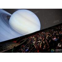 Buy cheap Giant 4D Dome Cinema With Snow And Raining Effect Hemispherical Ball Curtain Screen from wholesalers