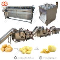Buy cheap Fully Automatic Frozen French Fries Making Machine Manufacturers from wholesalers