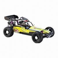 Buy cheap 2.4GHz 1/5 Scale Gas Power RC Buggy with 23cc Engine, 2WD Twin Rear Disc Brake, Hobby Nitro Car from wholesalers