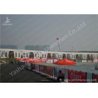 Standard Chartered Car Racing Tents For Outside Events , Custom Made Manufactures