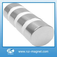 Buy cheap Natural material custom big size NdFeB magnet from wholesalers