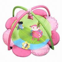 Buy cheap Floral-shaped Baby Activity Mat, Can be Blaced on Floor, Bed, Grass, Convenient to Carry from wholesalers