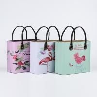 Buy cheap New Series Luxury Picnic Portable Basket with Fashion Pattern Decorative Fruit Food Wine Storage Basket from wholesalers