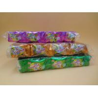 Buy cheap Orange Red / Green / Yellow Bubblegum Chewing Gum Candies QS Certification from wholesalers