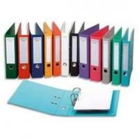 Buy cheap OEM Personalized Blue 4 Ring Binder Cardboard Ring File Folder from wholesalers