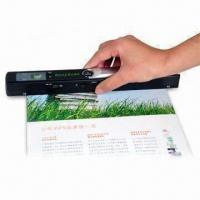 Buy cheap Portable Scanner with Built-in Realtime Scanning Detector to Avoid Distortion from wholesalers
