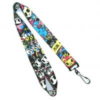 Buy cheap Personalized Polyester Heat Transfer Lanyard With Hook For Trade Show from wholesalers