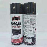 Buy cheap Indoor Outdoor Black Aerosol Spray Paint Anti Faded For Plastic Renews / Revitalizes from wholesalers