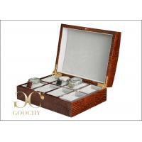 Buy cheap Engraved Gifts Wooden Watch Display Case / Breitling Watch Box for Men from wholesalers