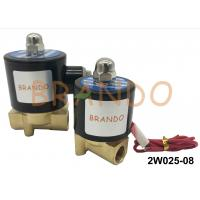 Buy cheap DN8 2/2 Way 2W025-08 Pneumatic Water Solenoid Valve Brass Body NBR Diaphragm from wholesalers