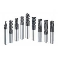 Buy cheap Professional HRC60 Tungsten Carbide End Mill For Processing Carbon Steel from wholesalers