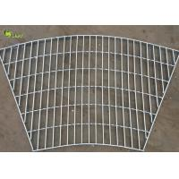 Buy cheap Serrated Carbon Steel Drain Bracing Grate Floor Hot Dip Galvanized Grid Grille from wholesalers