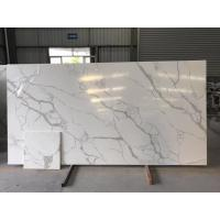 Buy cheap Quartz Solid Surface Stone White Kitchen Countertops from wholesalers