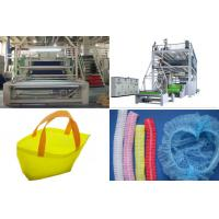 SMS PP Spunbond Nonwoven Fabric Production Line / Equipment automatic bag Making Manufactures