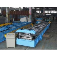 Buy cheap PLC Panasonic Corrugated Forming Machine Metal Forming Tools, Roll Forming Machinery from wholesalers