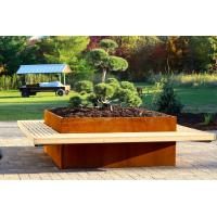 Buy cheap corten steel planter, Environmental Flower Planter Pots, Wholesale Vertical Garden Planters Products from wholesalers