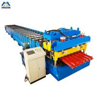 Buy cheap Color Steel Metal Glazed Tile Tile Roll Forming Machine For Outdoor Decorate product
