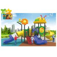Buy cheap Customized Color Plastic Playground Slide For Children Outdoor Entertainment from wholesalers