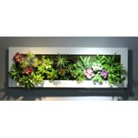 Wholesale Interior Decorative Artificial Green Wall Panel Fake Plants Hanging Ornaments for Hotel from china suppliers
