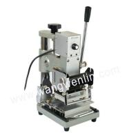 Buy cheap plastic pvc card tipping machine,  hot stamping machine from wholesalers
