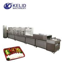 Buy cheap Tunnel Conveyor Belt Type Microwave Heating Equipment For Fast Food from wholesalers