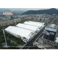 Buy cheap 35m Aluminum Frame White PVC cover Tent Hall for Exhibition Intelligence from wholesalers