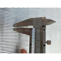 Buy cheap Stainless Steel Wedge Wire Screen Panel For Solid-Liquid Separation from wholesalers