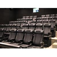 Wholesale Customized Environmental 4D Cinema Equipment / Electric 4D Motion Seats from china suppliers