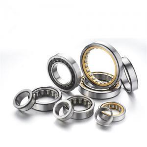 Chrome steel Single Row Cylindrical roller bearing , V1 / V2 / V3 Manufactures