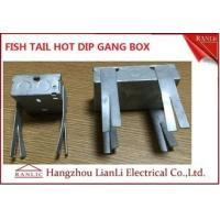 Buy cheap Hot Dip Finish GI Electrical Gang Box / Gang Electrical Box 3 inch by 3 inch from wholesalers