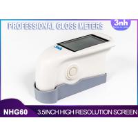 Buy cheap Single Angel Professional Gloss Meters NHG60 , Intelligent Gloss Level MeasurementFor Patch Paint from wholesalers